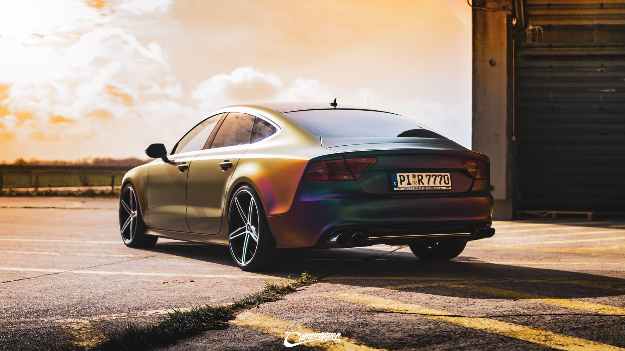 Supersprintターボダウンパイプ~リアマフラー [Audi S7(4G) スポーツバック 4.0TFSI ...